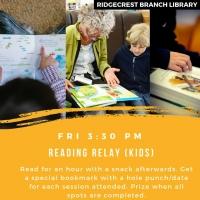 Fun Friday: Reading Relay