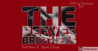 Live Music with the Reeves Brothers