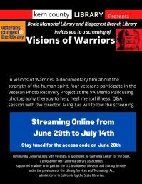 Virtual Screening of Visions of Warriors