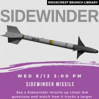 Wednesday Visitor: Sidewinder Missile
