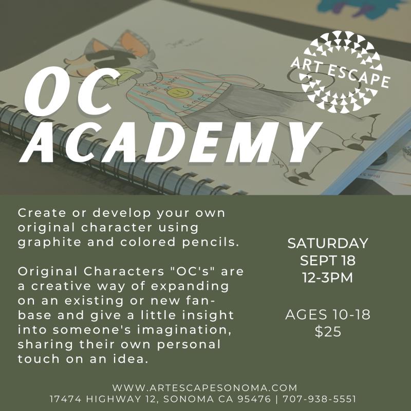 OC Academy Art Class