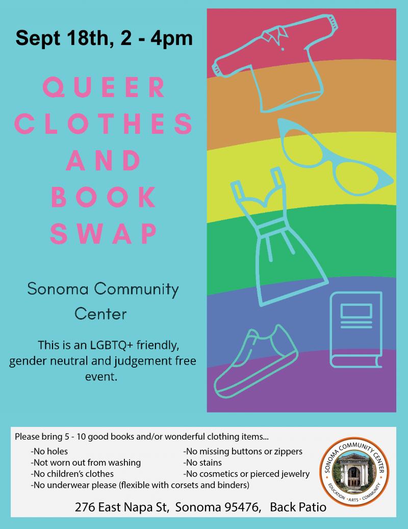 Queer Clothing & Book Swap