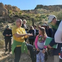 Geology Tour at Boyce Thompson Arboretum