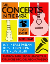 Fall Concerts in the Park at Flatiron Park
