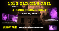 Ghost Hunt At The 1910 Old Gila County Jail
