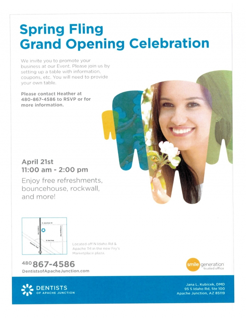 Event details dentists of apache junction grand opening 04212018 event details dentists of apache junction grand opening stopboris Images