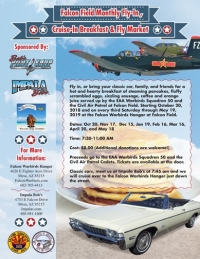 FALCON WARBIRDS' FLY-IN PANCAKE BREAKFAST & IMPALA BOB'S CLASSIC CAR SHOW