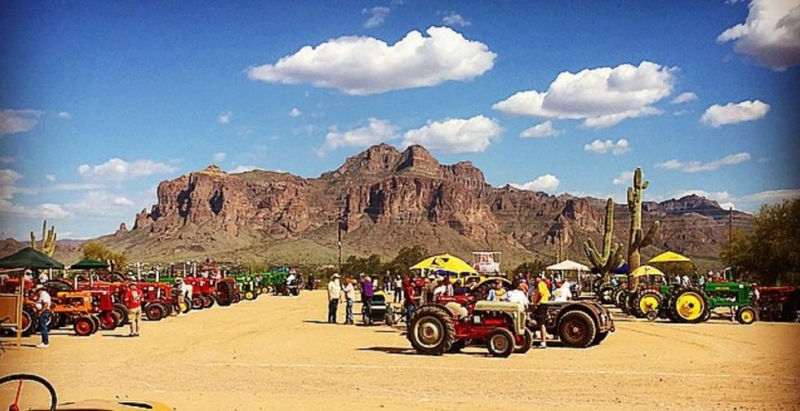 Antique Engine And Tractor Show 03 12 2016 Apache Junction