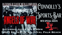 Angels Of War Invades Connolly's
