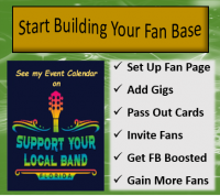 Start Building Your Fan Base!!!