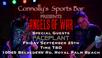 "Angels Of War ""Birthday Bash"" at Connolly's"