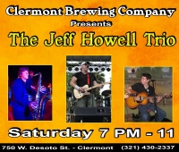 Jeff Howell Trio at Clermont Brewing Company