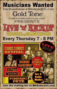 Live 'n' Kickin' Orlando every Thursday!