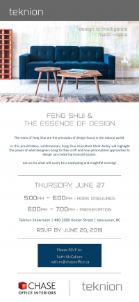 Feng Shui and The Essence of Design