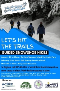 Winter Guided Hike Series - Caribou/Munroes Island Provincial Park