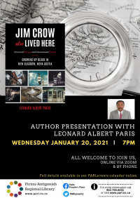 Author Readings @ Library - Jim Crowe Also Lived Here
