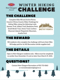 Winter Hiking Challenge