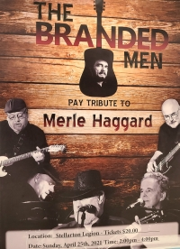 RESCHEDULED - Merle Haggard Tribute Band Performance