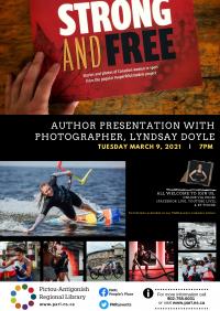 Author presentation with photographer, Lyndsay Doyle (online)