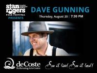 Stanfest presents Dave Gunning