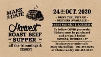 Harvest Roast Beef Supper