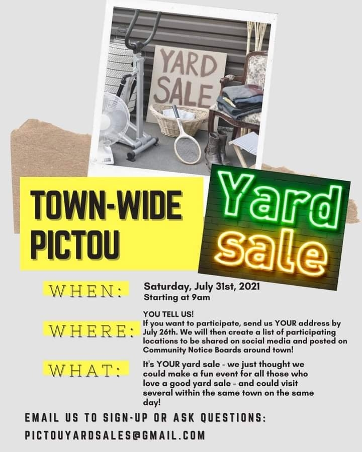 Pictou Town-Wide Yard Sale