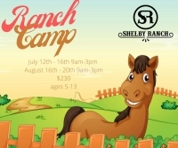 Ranch Camp at Shelby Ranch