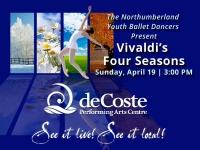 Northumberland Youth Ballet Dancers Present Vivaldi's Four Seasons