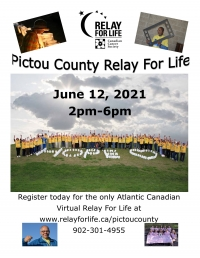 Pictou County Virtual Relay for Life (Online)